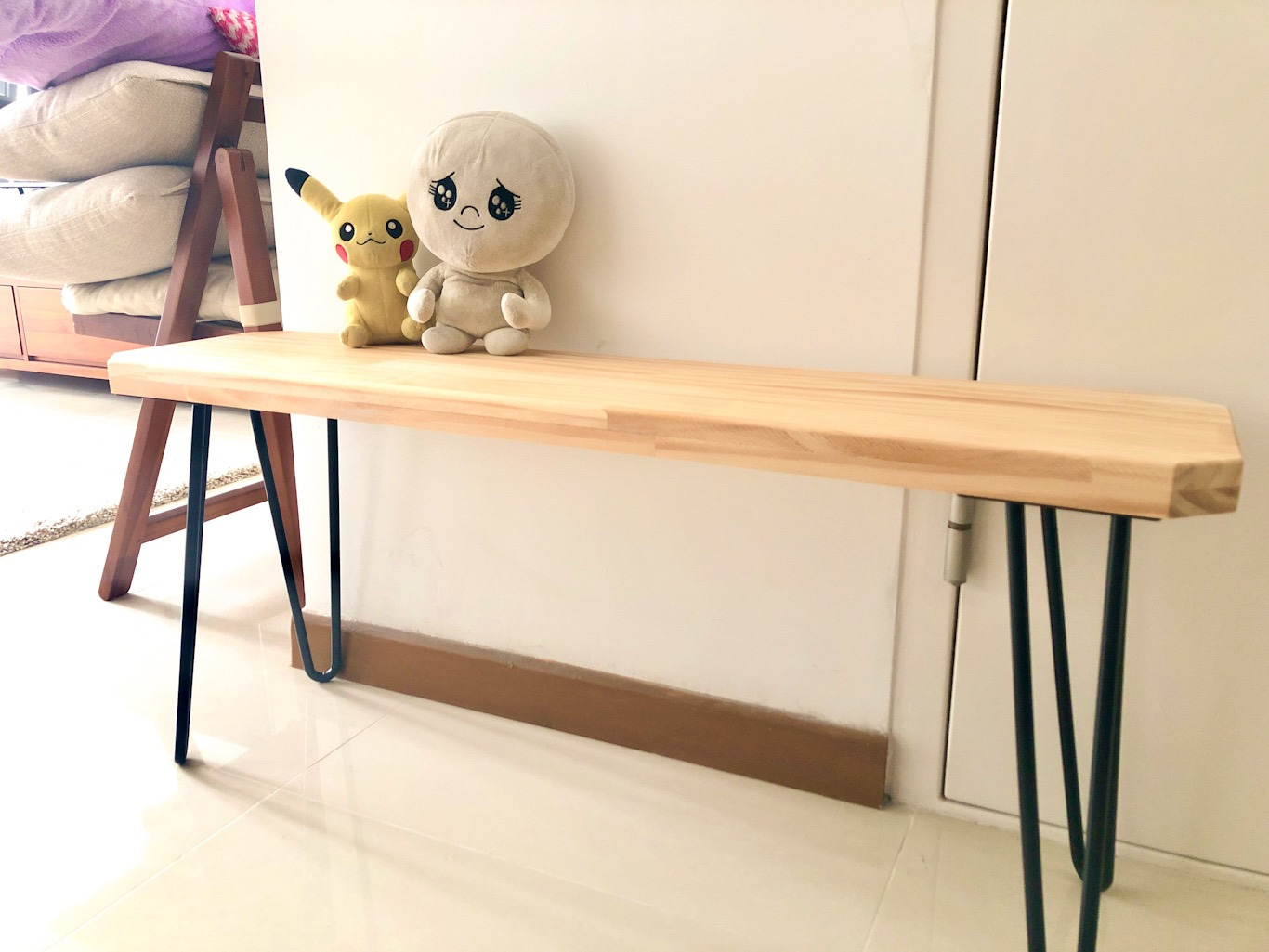 BERLIN Hand Crafted Solid Wood Bench photo review