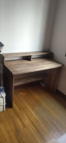 MAVERICK Hand Crafted Solid Wood Study Table photo review