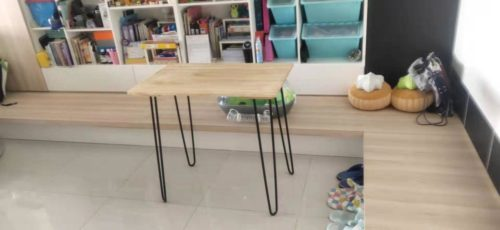 HARPER Hand Crafted Solid Wood Study Table photo review