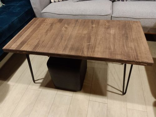 BOLVERN Solid Wood Coffee Table photo review