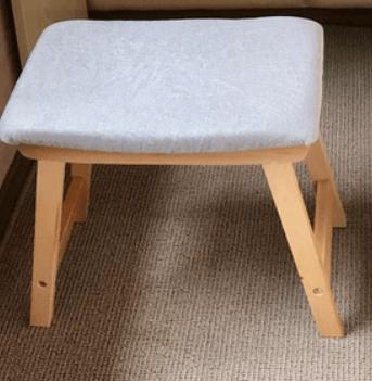 ZOLA Scandinavian Wooden Bench photo review