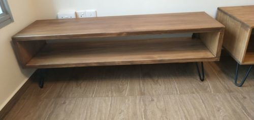 DOME Solid Wood TV Cabinet photo review