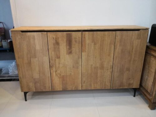 KYLE Solid Wood Shoe Cabinet photo review