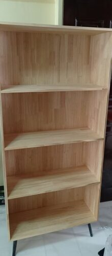 BEEL Solid Wood Book Shelf photo review