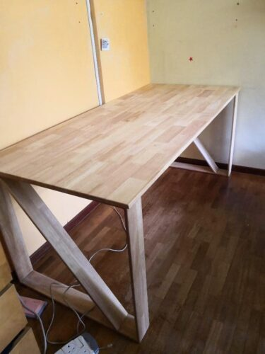 LESIA Solid Wood Study Table photo review