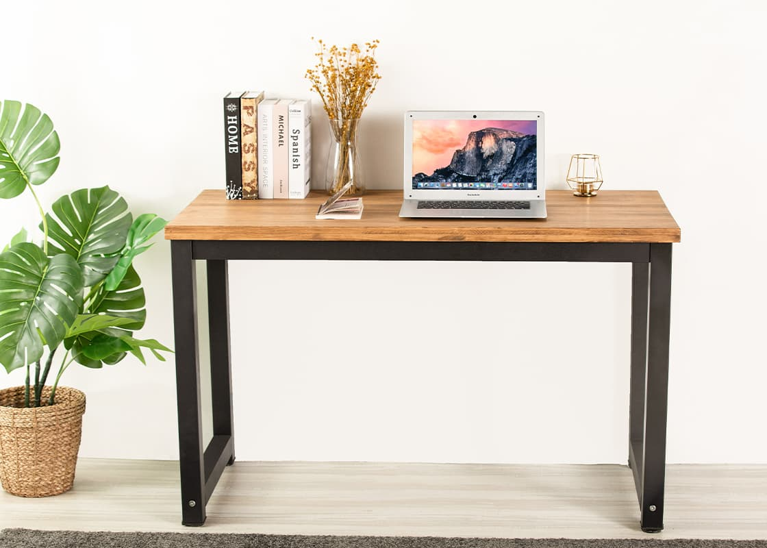 solid wood study desk