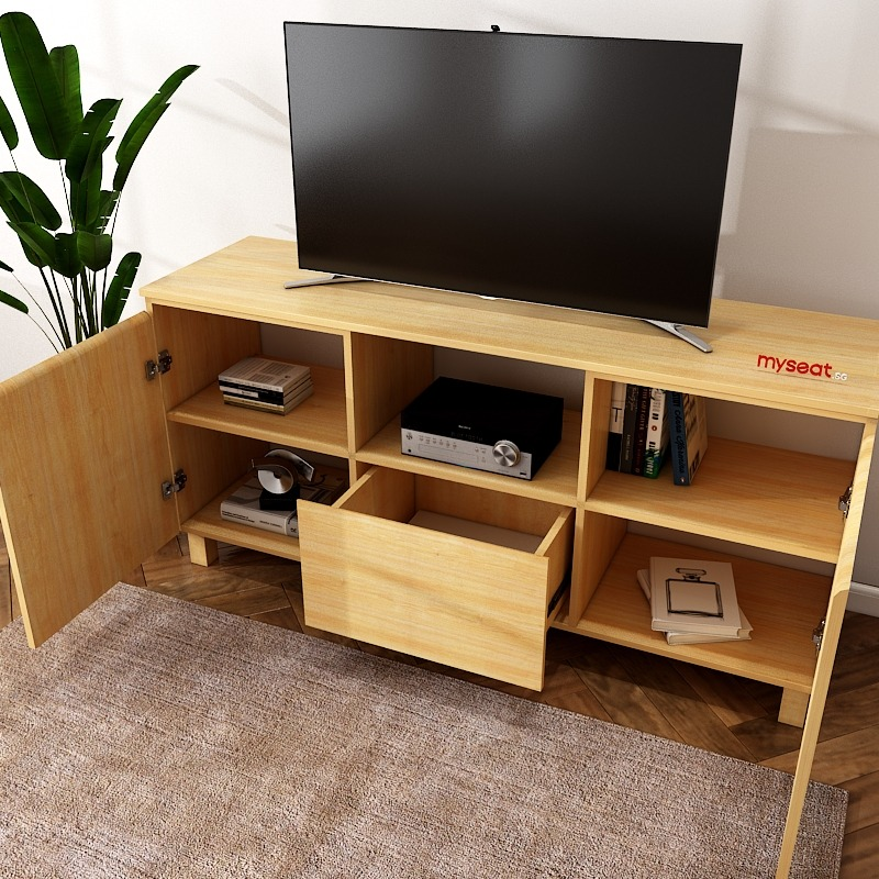 solid wood console Cabinet