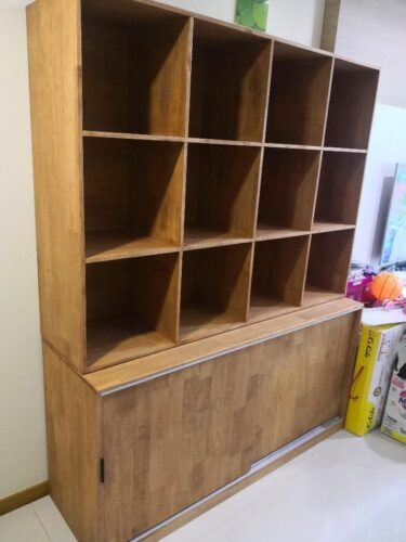 OMEN Solid Wood Book Shelf photo review