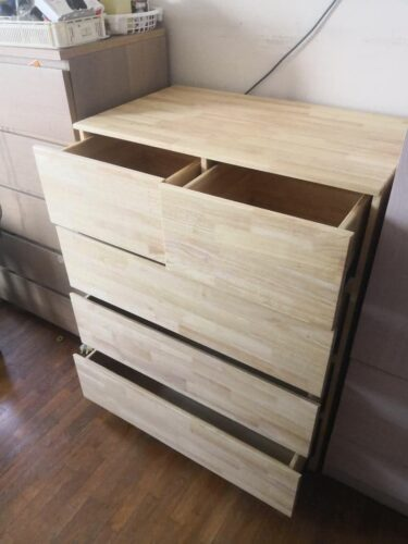 CASSEY Solid Wood Cabinet photo review