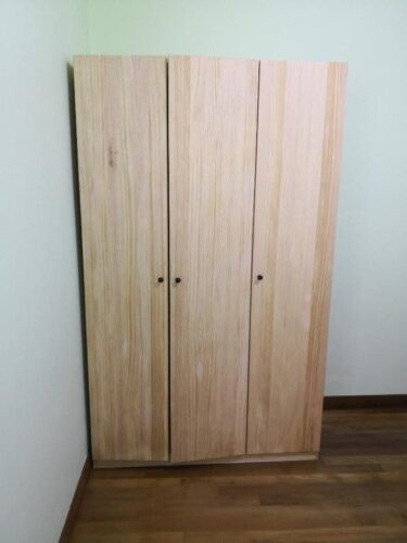 DAMIEN Solid Wood Closet photo review