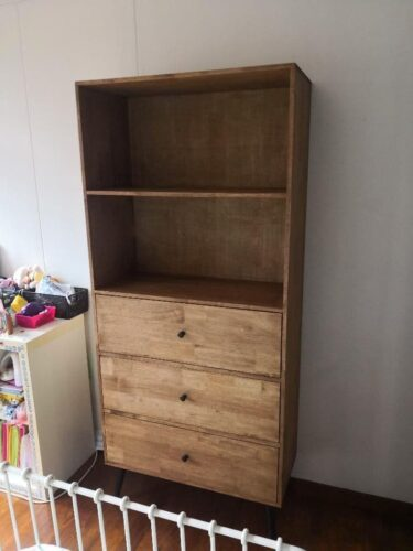 DIAGO Solid Wood Book Shelf photo review
