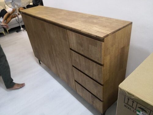 SKYLER Solid Wood Cabinet photo review